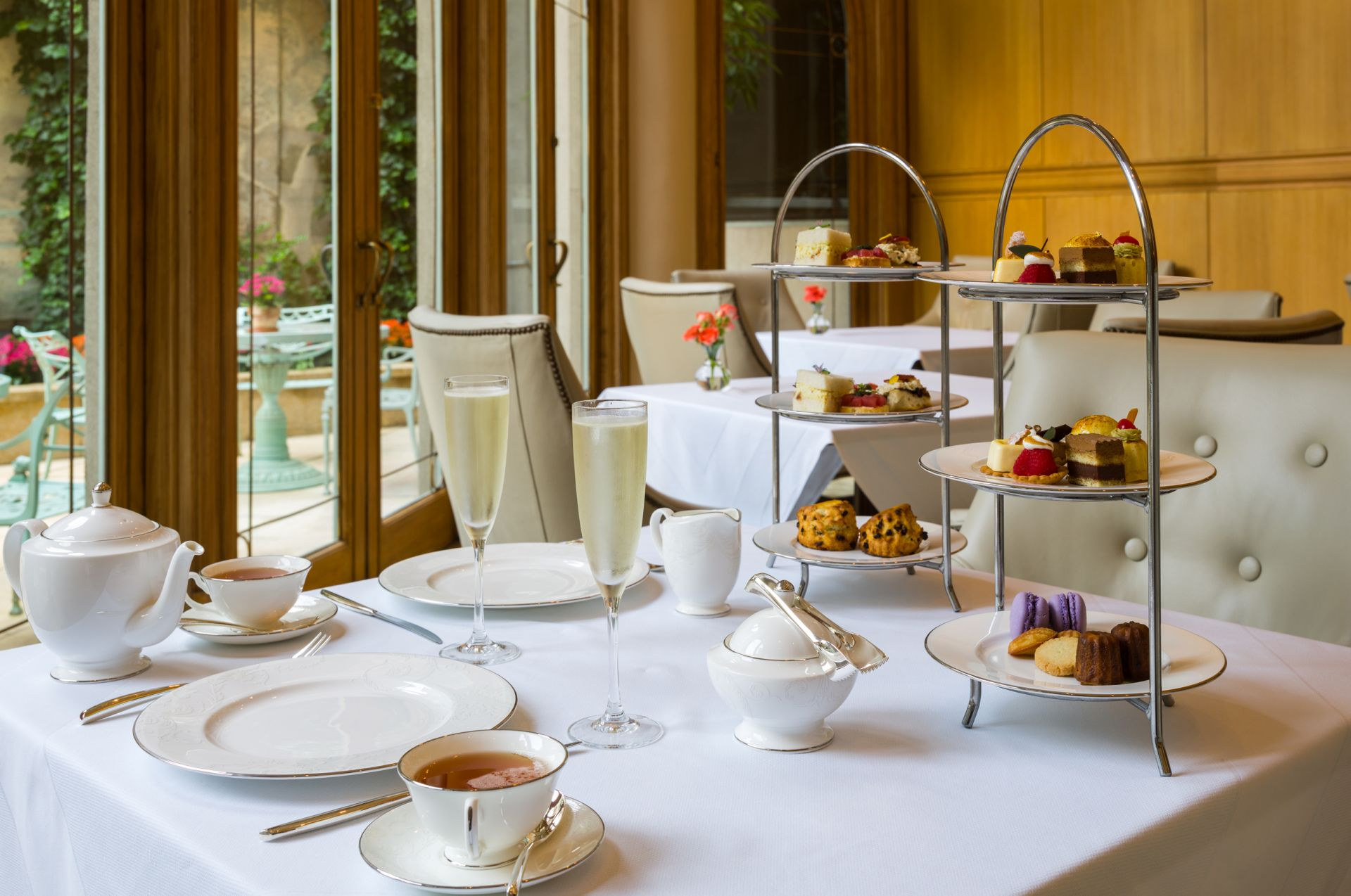 Afternoon Tea Philadelphia | Mary Cassatt Tea Room | The Rittenhouse