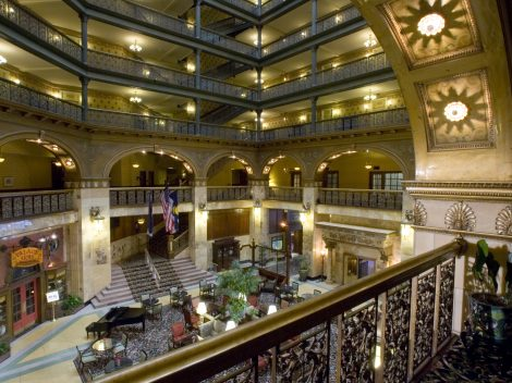 Hotel Tours Denver Hotels The Brown Palace