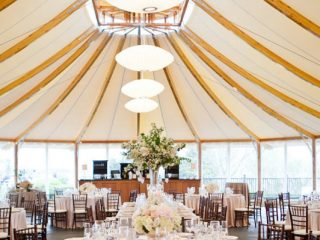 wedding reception at Castle Hill Inn's newport ri wedding venues