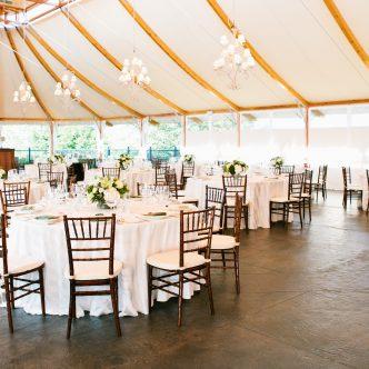 Island Wedding Banquet At Castle Hill Inn