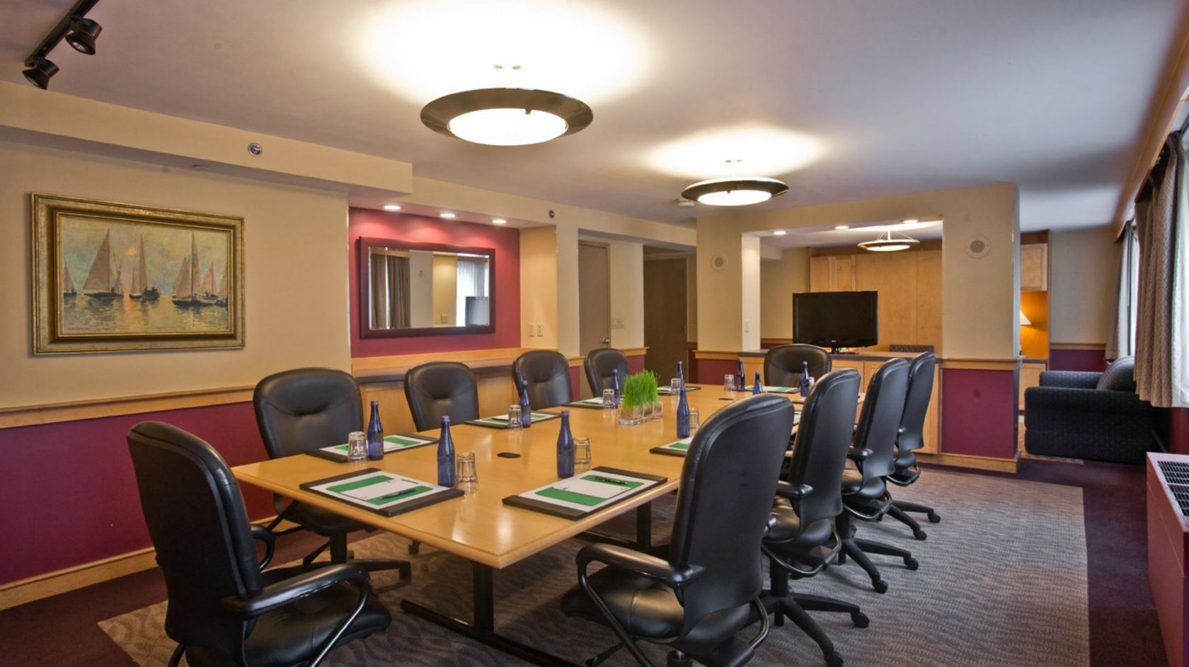 meeting space at inn at longwood medical