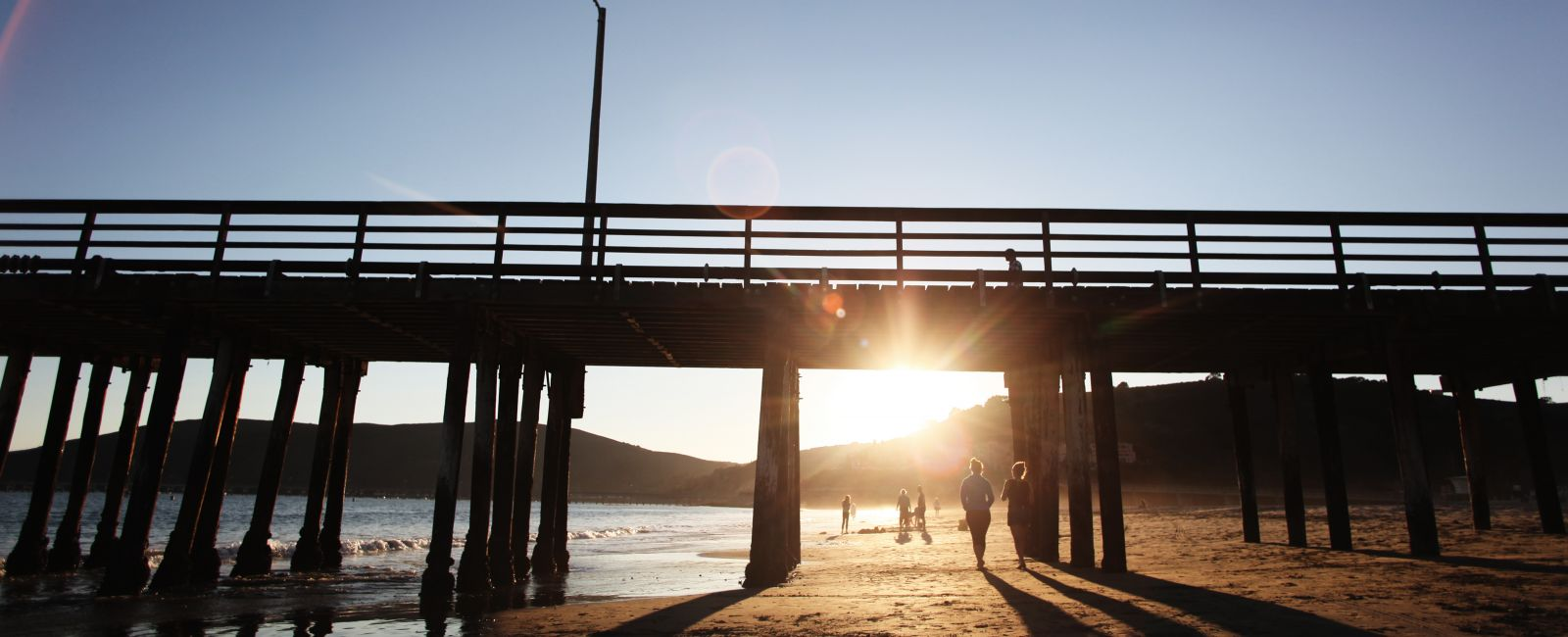 Pier on the Beach in SLO