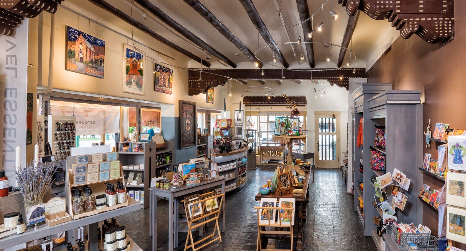Detours At La Fonda Our Signature Gift Shop