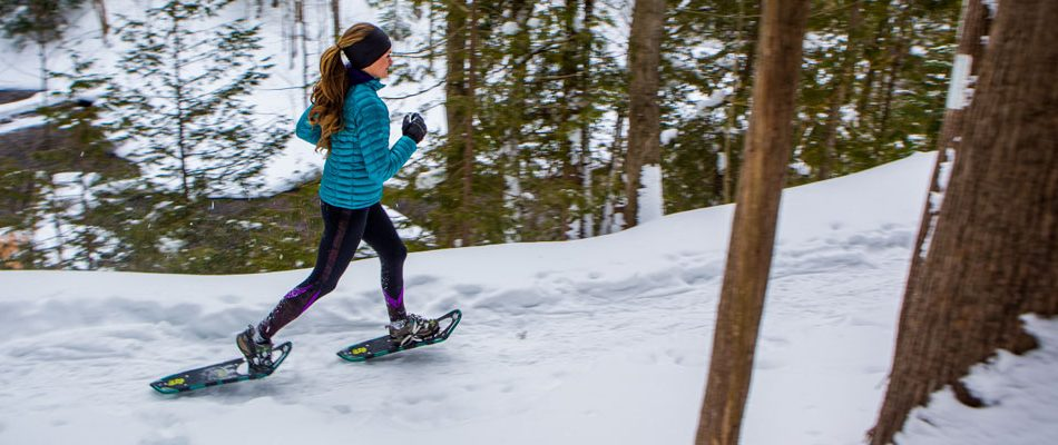 Snowshoeing is among the many things to do in Santa Fe.
