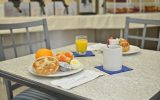 Tons of free breakfast options Pismo Lighthouse Suites