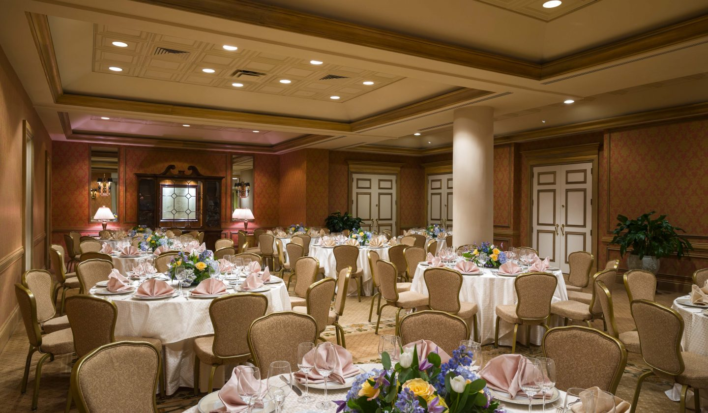 wedding venue customized for your special day at The Rittenhouse Hotel in Philadelphia