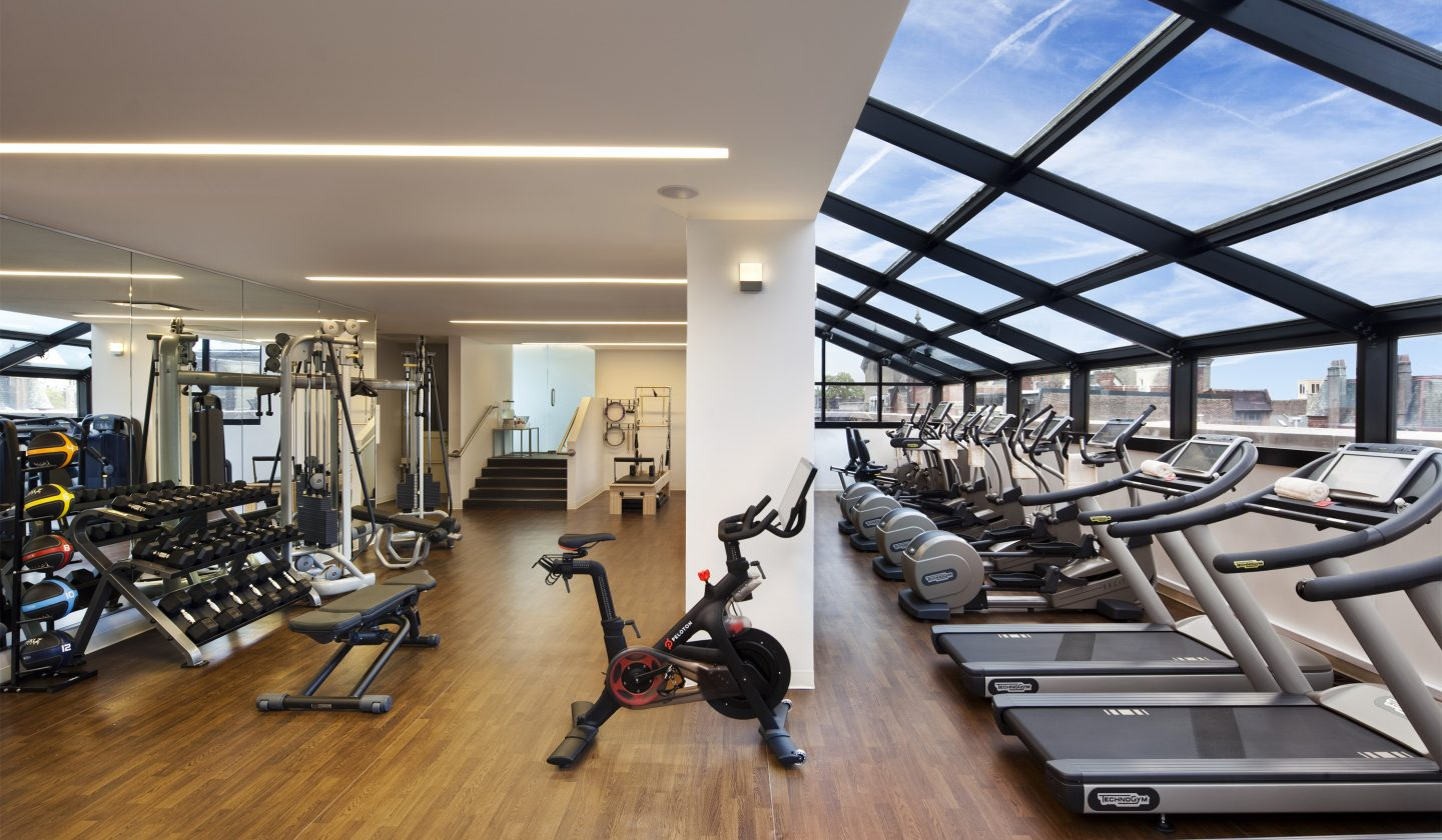 Fitness Center at The Rittenhouse Hotel