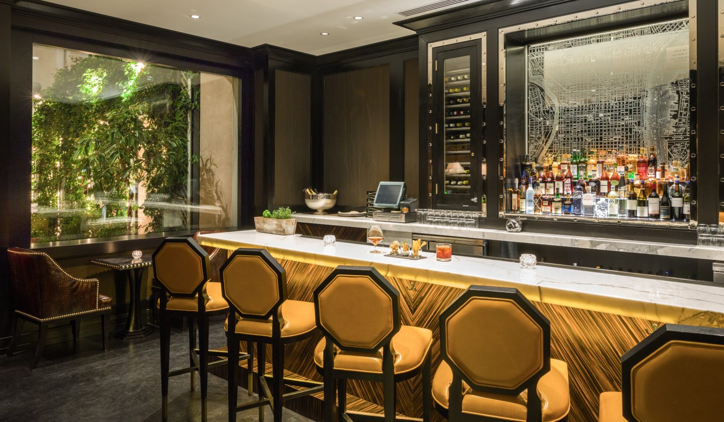 Library Bar and dining at The Rittenhouse