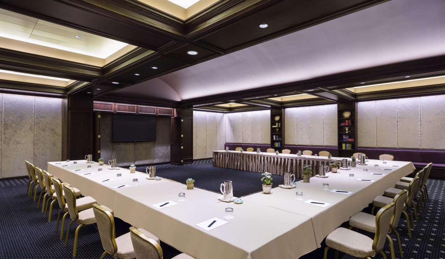 meeting space for business or social events at The Rittenhouse Hotel