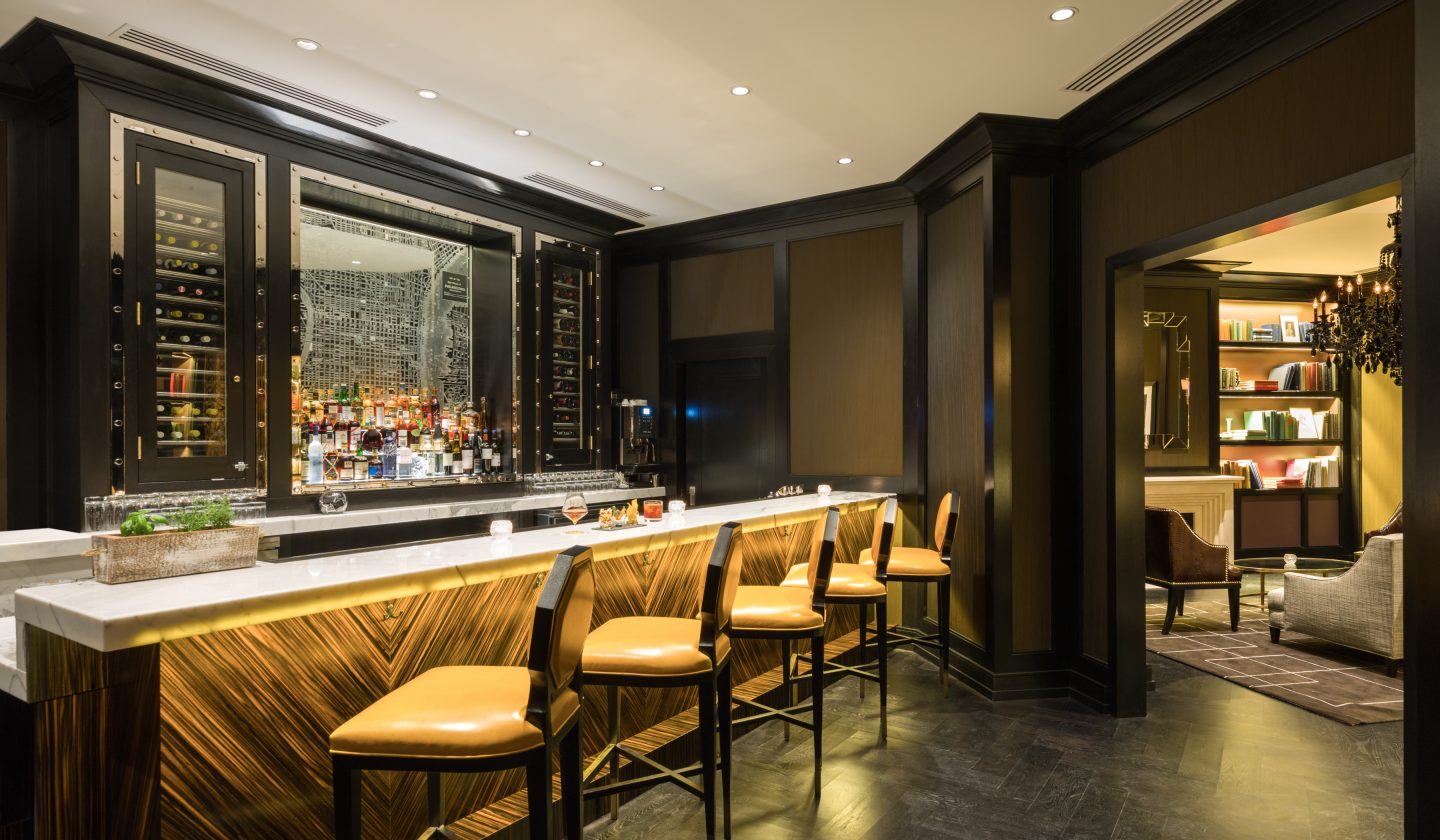 Dine at The Rittenhouse Hotel's library bar