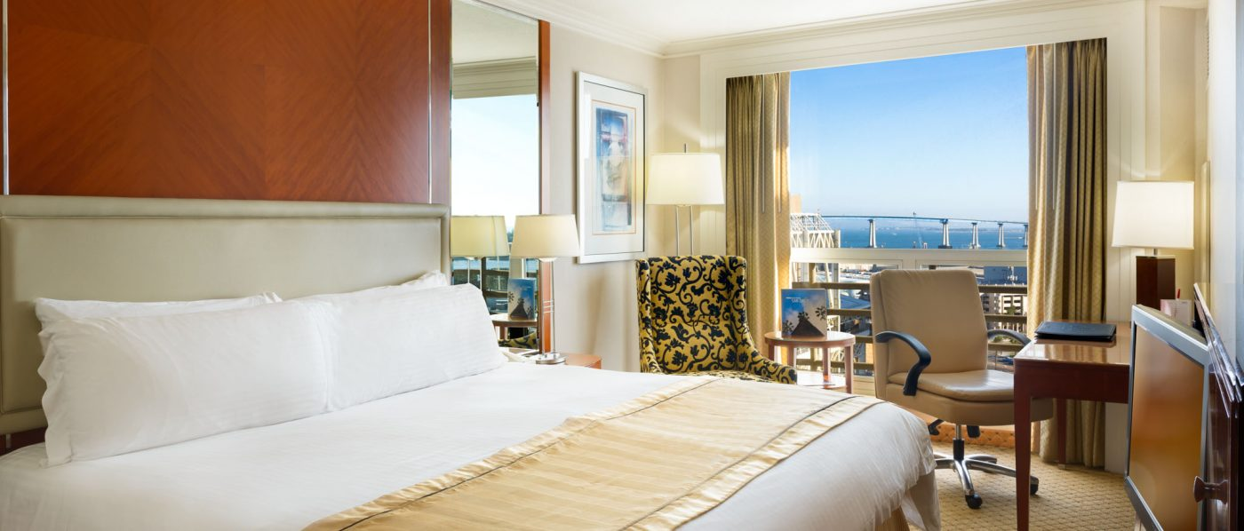 Premier Downtown San Diego Accommodations at San Diego Marriott Gaslamp Quarter