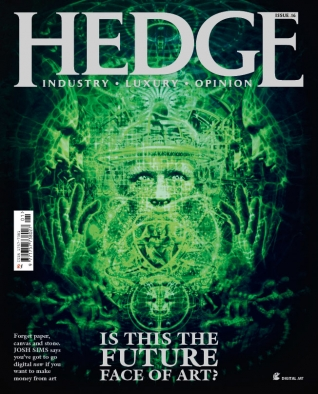 Is this the future face of art? - Hedge Magazine 16