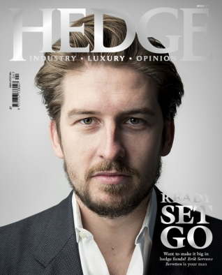 Ready, Set, Go - Want to make it big in hedge funds? Erik Serrano Berntsen is your man