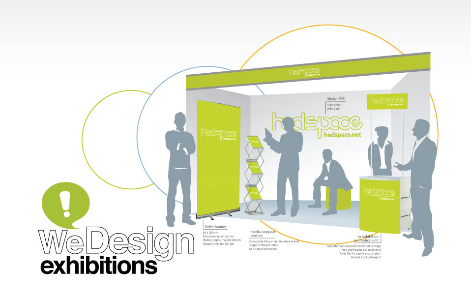 exhibition stand design & print offer