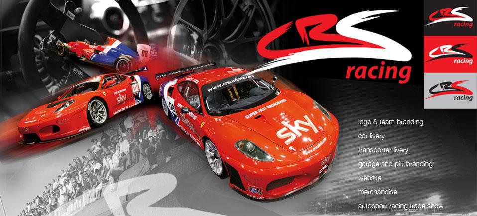 Ferrari Race Team design - brand, print & exhibition