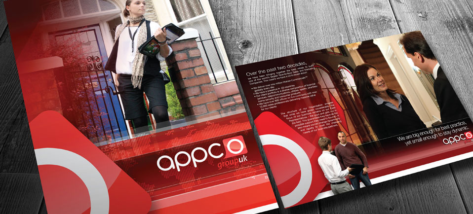Appco Group brand & marketing materials