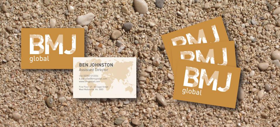 BMJ global brand identity
