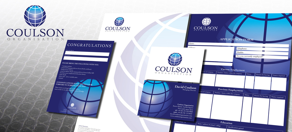 corporate branding and identity solution