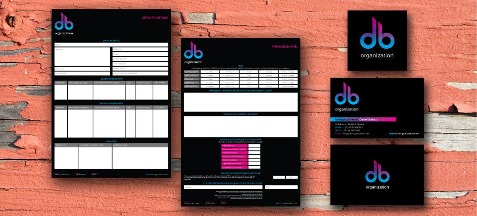 company branding project