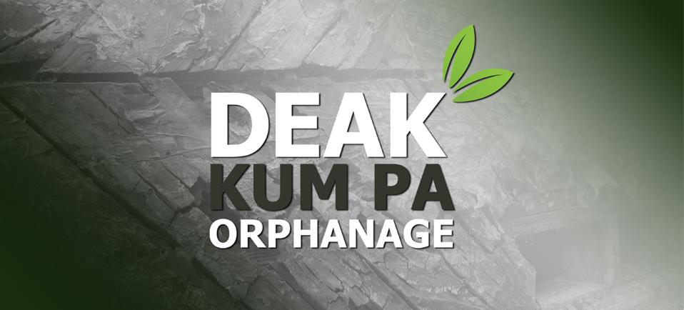 Deak Kum Pa Orphanage brand identity