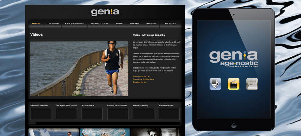 Gen.a Website Design