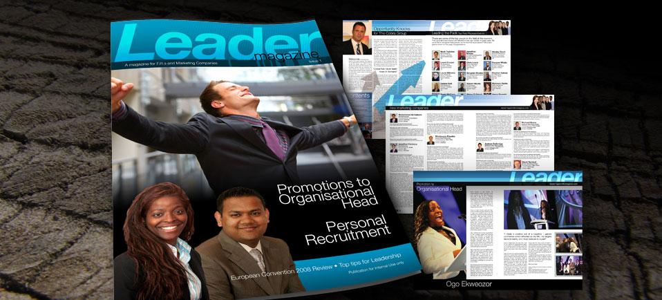 leader magazine production
