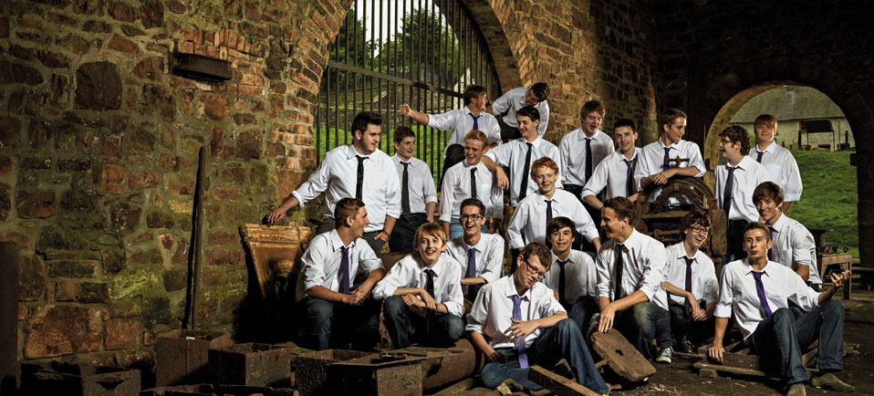 sony - Only Boys Aloud Photo-shoot