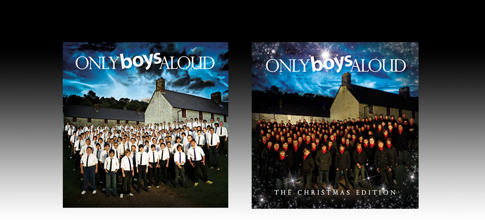 sony - Only Boys Aloud album covers