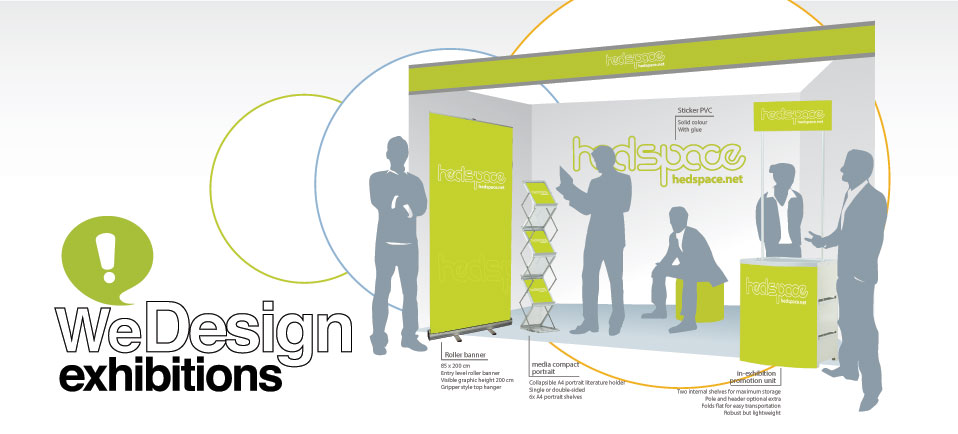 we design exhibition stands