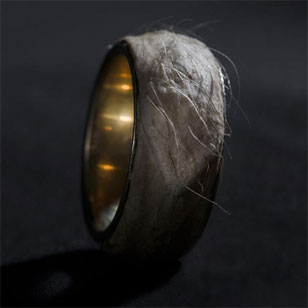 jewellery made from human skin