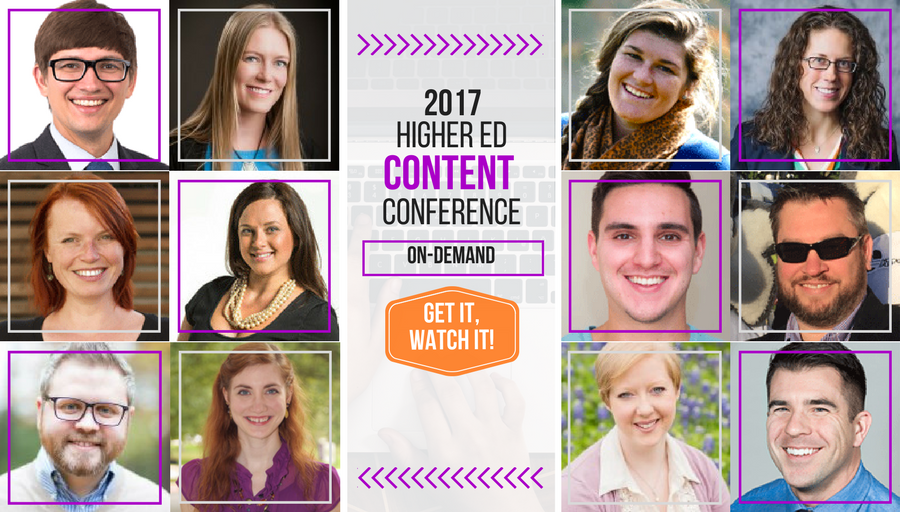 2017 Higher Ed Content Conference