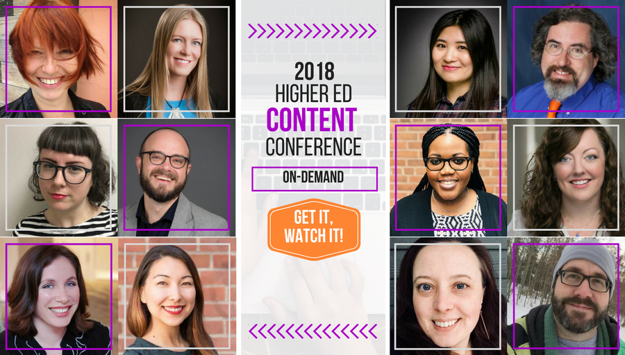 2018 Higher Ed Content Conference
