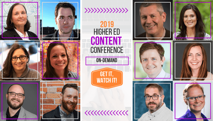 Submit a proposal to the 2019 Higher Ed Content Conference