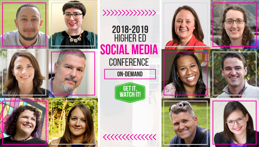 2018 Higher Ed Social Media Conference