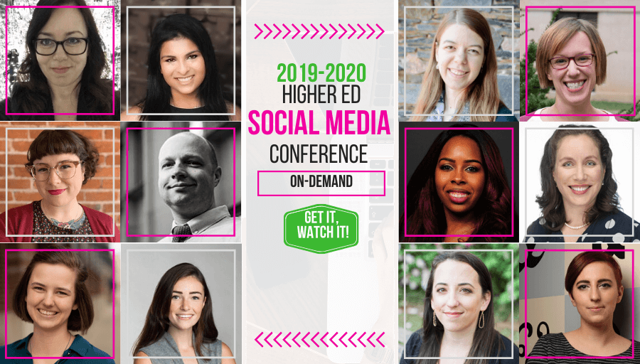 2019-2020 Higher Ed Social Media Conference