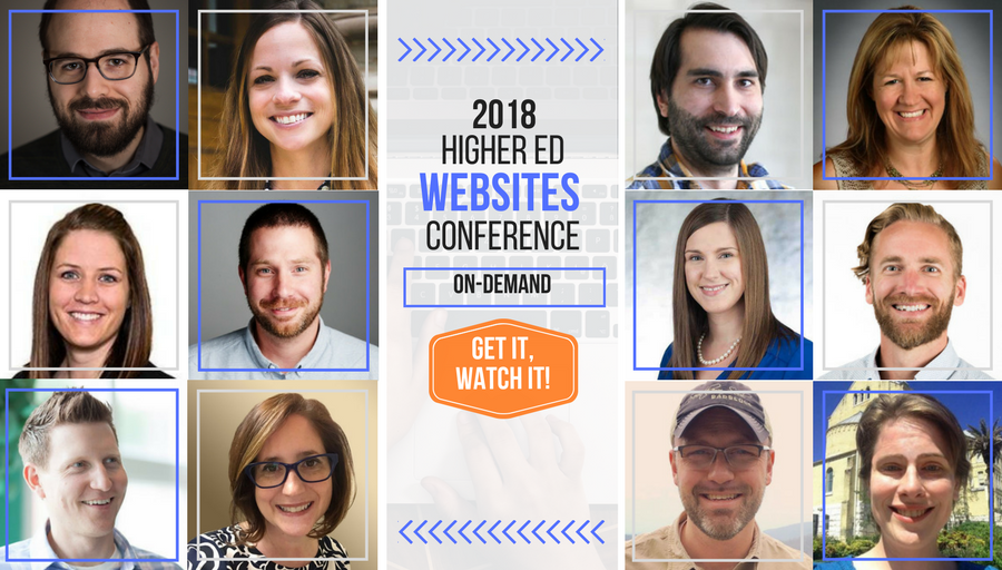 2018 Higher Ed Websites Conference