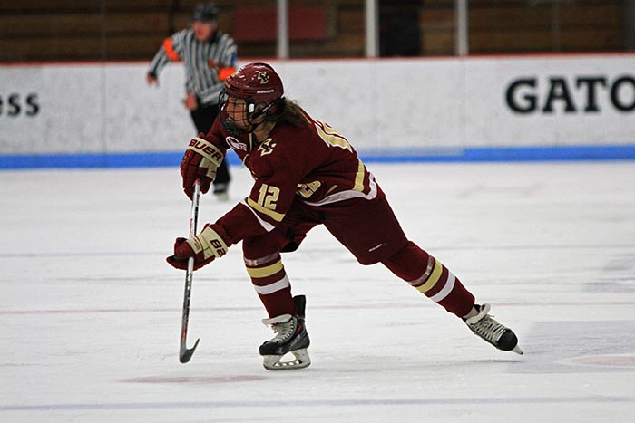 BC women's hockey