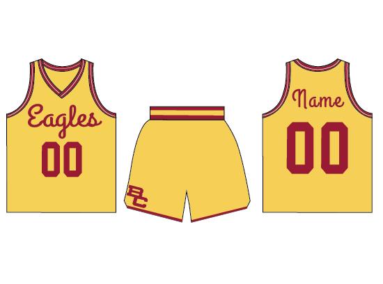 Boston College uniforms