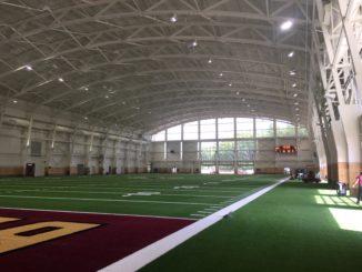 indoor practice facility