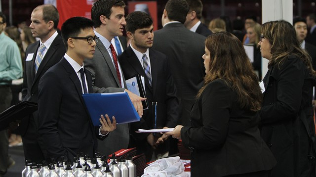 BC Career Fair Brings Employers And Insight To Prospective Job Applicants