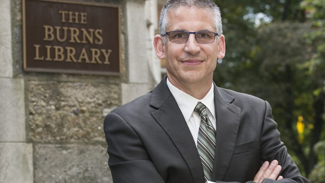 Dupont Joins BC As New Director Of Burns Library