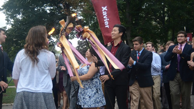 Freshman Class Welcomed With Annual 'First Flight'