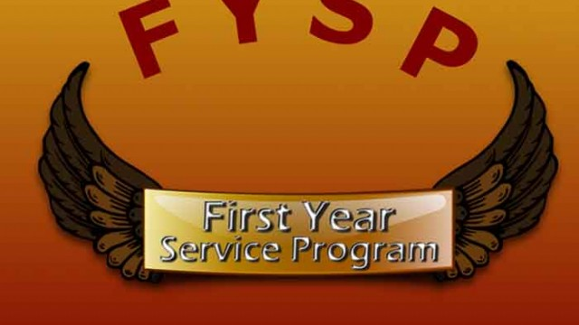 First Year Service Program Prepares For Its Fourth Year