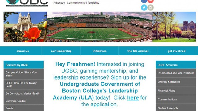 UGBC Redesigns Website, Expands Transparency