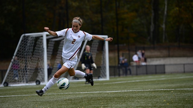 Hayley Dowd's Header Gives Eagles Win Over Huskies