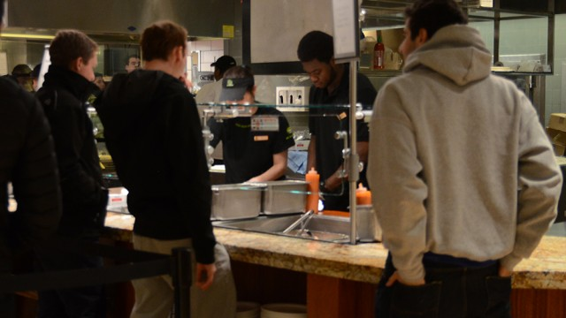 Dining In: Feeding Boston College Through The Snowstorm