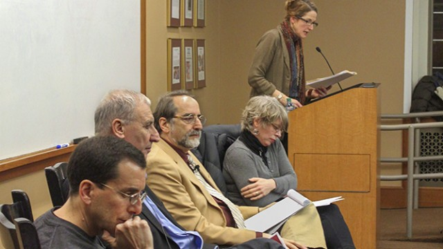 Panel Considers Role Of Journalism In 21st Century