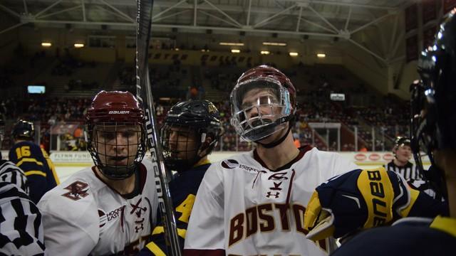 Merri-Go-Down: Hockey East Win Keeps Eagles In Tournament Chase