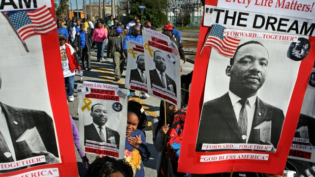 Memorial Service Celebrates MLK's Movement For Equality