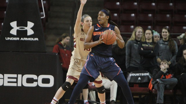 Syracuse's Late Game Surge Puts Eagles Out Of Reach